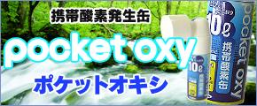携帯酸素スプレー缶ポケットオキシ